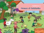 KUNCI JAWABAN Tema 7 Kelas 1 SD/MI Subtema 2 Hewan di Sekitarku, Halaman 48-88