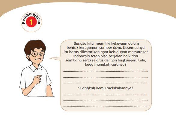 Kunci Jawaban Tema 9 Kelas 4 Halaman 100 101 103 104 107 108 110 111 112 113 Pembelajaran 1 Subtema 3