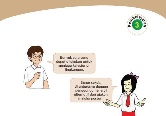 Kunci Jawaban Tema 9 Kelas 4 Halaman 120 121 124 125 126 127 128 131 Pembelajaran 3 Subtema 3