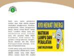 Kunci Jawaban Tema 9 Kelas 4 Halaman 156 157, Membuat Poster Hemat Energi