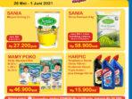PROMO INDOMARET Terbaru Hari Ini 26 Mei - 1 juni 2021, Belanja lebih mudah dari rumah di Klikindomaret.com