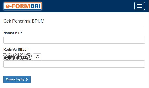 KLIK eform.bri.co.id/bpum, Cek Penerima BPUM BRI Online Pakai HP