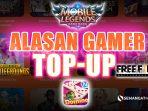 Mobile Legends, Higgs Domino, PUBG, Free Fire