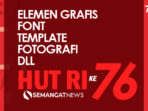 tema dan logo hut ri ke-76