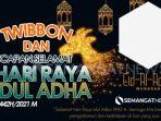 Twibbon Idul Adha 2021 Gratis