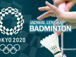 Jadwal lengkap olimpiade tokyo
