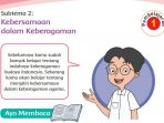 KUNCI JAWABAN Tema 1 Kelas 4 Subtema 2 Kebersamaan dalam Keberagaman, Halaman 77 Sampai 127