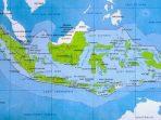 Kondisi Geografis Pulau Jawa, Sumatera, Kalimantan dan Sulawesi Berdasarkan Peta