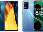 Pilih Smartphone 5G mana, Poco M3 Pro 5G atau Realme 8 5G, Cek Spesifikasinya disini!