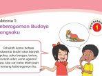LENGKAP Kunci Jawaban Tema 1 Kelas 4 Subtema 1 Keberagaman Budaya Bangsaku, Halaman 3 Sampai 73