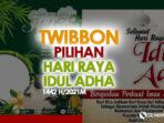 15 Twibbon Hari Raya Idul Adha 2021