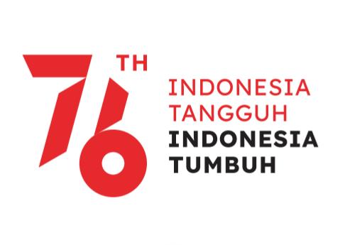 desain Logo HUT RI ke 76