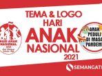 makna logo Hari Anak nasional 2021