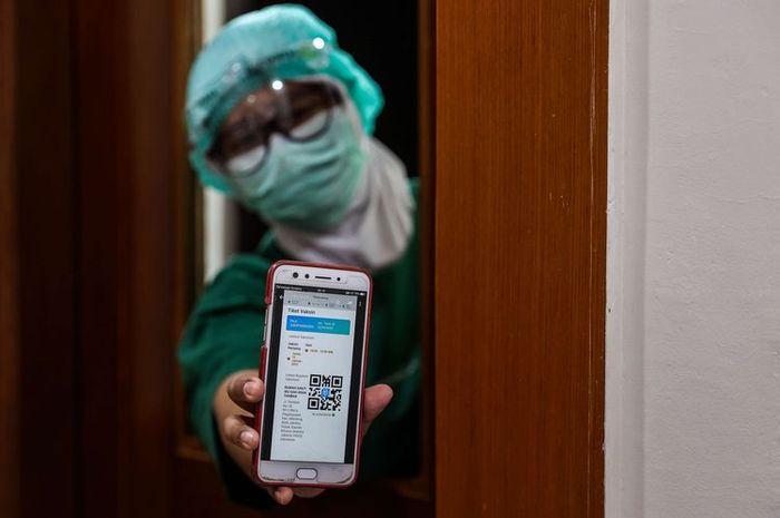 Contoh sertifikat digital vaksin Covid-19. (Foto: Dok. Net)