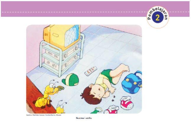 Kunci Jawaban Tema 2 Kelas 5 Halaman 98 99 101, Subtema 3 Memelihara Kesehatan Organ Pernapasan Manusia