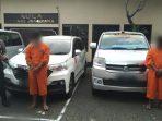 Dua sopir travel asal Jatim yang ditangkap di Bali lantaran kedapatan menjual surat rapid tes dan vaksin palsu. (Foto: Dok. Istimewa)