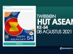 Twibbon HUT ASEAN 2021