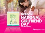 Twibbon National GF Girlfriend Day