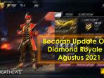 Update OB29 Diamond Royale FF Agustus 2021