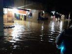 Genangan air merendam sejumlah kediaman warga di Kota Padang. (Foto: Dok. Pusdalops PB Padang)