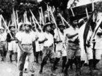 Ilustrasi kemerdekaan RI tahun 1945. (Foto: Dok. Istimewa)
