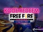 Kode Redeem FF 5 Agustus 2021