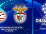 PSV Vs Benfica Rabu Dini Hari 25 Agustus 2021