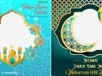 16 Twibbon Tahun Baru Islam 1443 Hijriah, Frame Ucapan Selamat 1 Muharram 2021 di Twibbonize.com