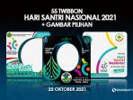 Twibbon Hari Santri 2021