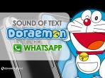 Sound of text doraemon tiktok
