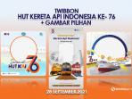 Twibbon HUT KAI 76