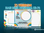 Twibbon Hari Listrik 2021
