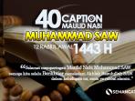 Caption Maulid Nabi 2021,
