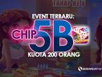 Event Higgs Domino! Hadiah Chip Gratis 5B, Kuota untuk 200 Orang Tercepat