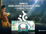 Frame Twibbon Hari Santri Nasional 2021Bingkai Foto Beserta Gambar Bingkai Pilihan
