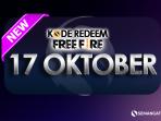 Kode Redeem Garena Free Fire