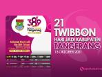 Twibbon Hari jadi Tangerang ke-389, 13 Oktober 2021 Keren