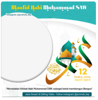 Maulid Nabi Muhammad SAW 1443