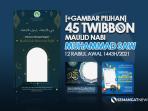 Twibbon MAulid Nabi Muhammad 2021