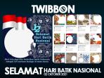 Twibbon Hari Batik 2021