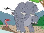 Kunci Jawaban Tema 4 Kelas 6 Halaman 140 dan 141, Subtema 4: Aku Cinta Membaca, Asal Usul Mata Kecil Gajah