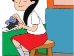 Kunci Jawaban Tema 4 Kelas 6 Halaman 143 144 145, Subtema 4: Aku Cinta Membaca, Cinta yang Membawa Sepatu Mendunia